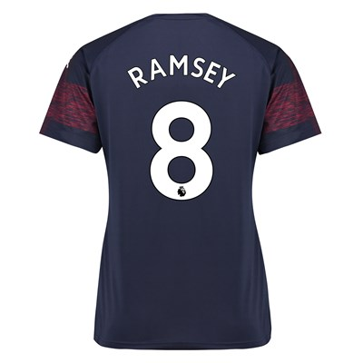 99f49b947a2 Arsenal Away Shirt 2018-19 - Womens with Ramsey 8 printing ...