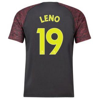 Arsenal Home Goalkeeper Shirt 2018-19 with Leno 19 printing