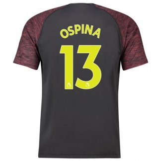 Arsenal Home Goalkeeper Shirt 2018-19 with Ospina 13 printing