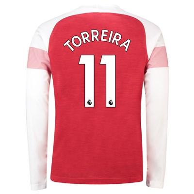69cdd1934 Arsenal Home Shirt 2018-19 - Long Sleeve with Torreira 11 printing ...