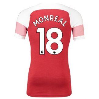Arsenal Authentic evoKNIT Home Shirt 2018-19 with Monreal 18 printing