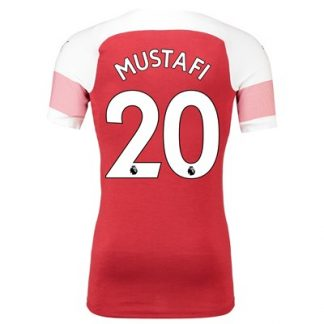 Arsenal Authentic evoKNIT Home Shirt 2018-19 with Mustafi 20 printing