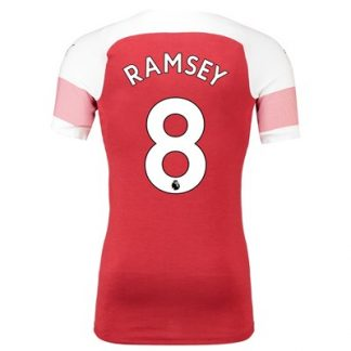Arsenal Authentic evoKNIT Home Shirt 2018-19 with Ramsey 8 printing