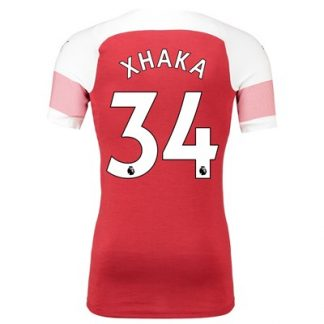 Arsenal Authentic evoKNIT Home Shirt 2018-19 with Xhaka 34 printing