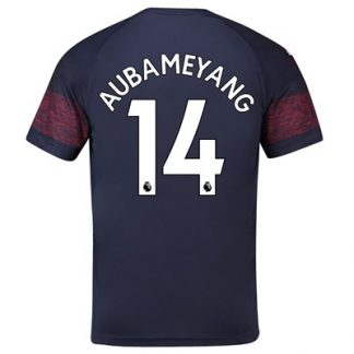 Arsenal Away Shirt 2018-19 - Outsize with Aubameyang 14 printing