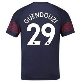 Arsenal Away Shirt 2018-19 - Outsize with Guendouzi 29 printing