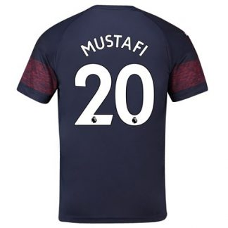 Arsenal Away Shirt 2018-19 - Outsize with Mustafi 20 printing