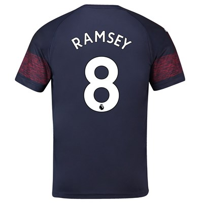 Arsenal Away Shirt 2018-19 - Outsize with Ramsey 8 printing