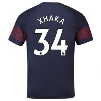 Arsenal Away Shirt 2018-19 - Outsize with Xhaka 34 printing
