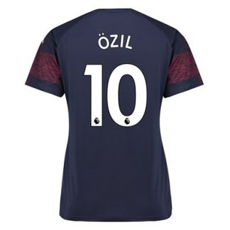 Arsenal Away Shirt 2018-19 - Womens with Özil 10 printing