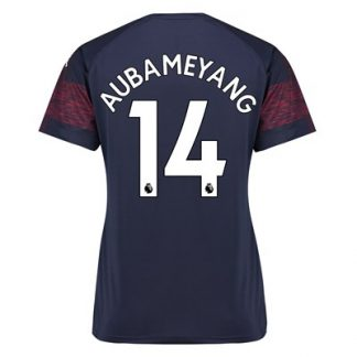 Arsenal Away Shirt 2018-19 - Womens with Aubameyang 14 printing
