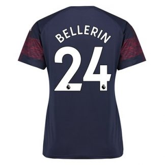 Arsenal Away Shirt 2018-19 - Womens with Bellerin 24 printing