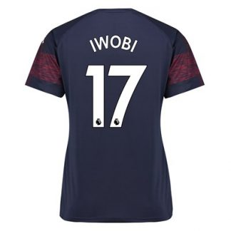 Arsenal Away Shirt 2018-19 - Womens with Iwobi 17 printing