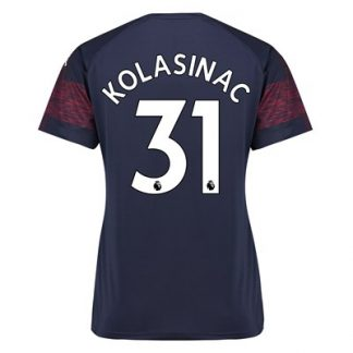 Arsenal Away Shirt 2018-19 - Womens with Kolasinac 31 printing