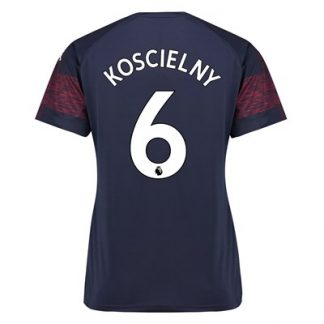 Arsenal Away Shirt 2018-19 - Womens with Koscielny 6 printing