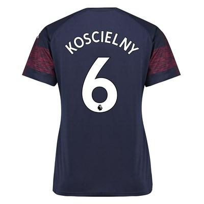 Arsenal Away Shirt 2018-19 - Womens with Koscielny 6 printing