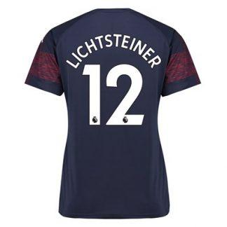 Arsenal Away Shirt 2018-19 - Womens with Lichtsteiner 12 printing