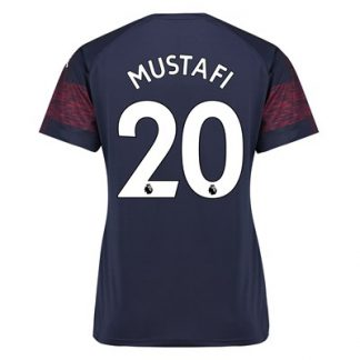 Arsenal Away Shirt 2018-19 - Womens with Mustafi 20 printing