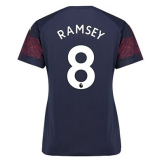 Arsenal Away Shirt 2018-19 - Womens with Ramsey 8 printing