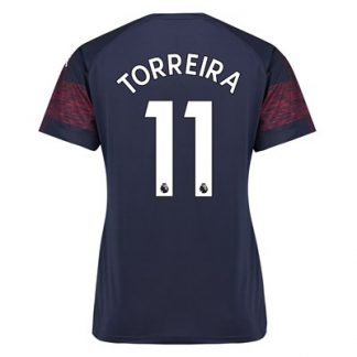 Arsenal Away Shirt 2018-19 - Womens with Torreira 11 printing