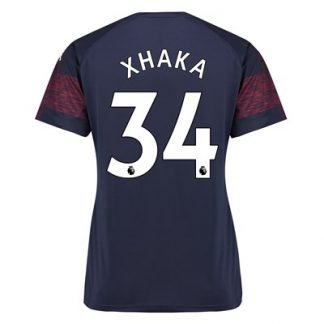 Arsenal Away Shirt 2018-19 - Womens with Xhaka 34 printing