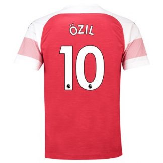 Arsenal Home Shirt 2018-19 - Outsize with Özil 10 printing