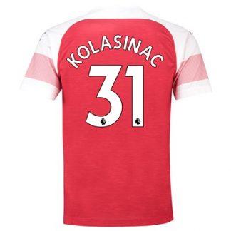Arsenal Home Shirt 2018-19 - Outsize with Kolasinac 31 printing