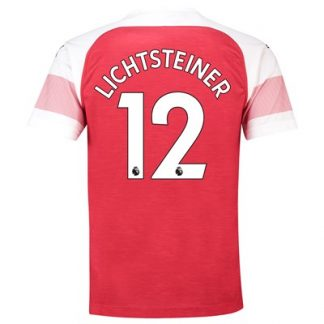 Arsenal Home Shirt 2018-19 - Outsize with Lichtsteiner 12 printing