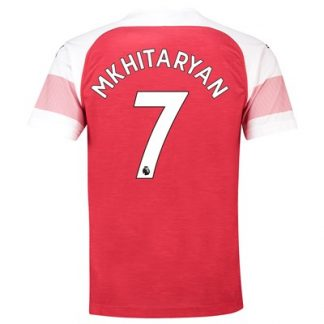 Arsenal Home Shirt 2018-19 - Outsize with Mkhitaryan 7 printing