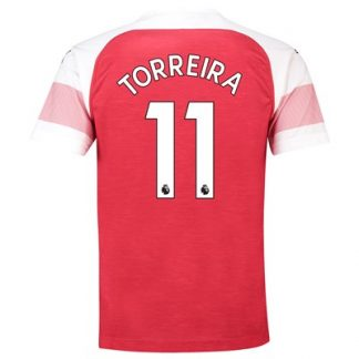 Arsenal Home Shirt 2018-19 - Outsize with Torreira 11 printing