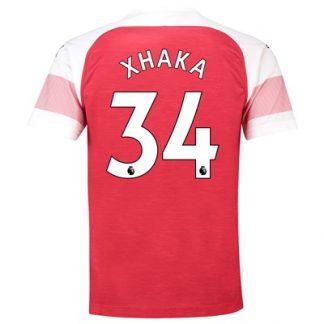 Arsenal Home Shirt 2018-19 - Outsize with Xhaka 34 printing