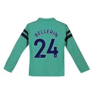 Arsenal Third Shirt 2018-19 - Kids - Long Sleeve with Bellerin 24 printing