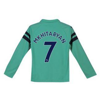 Arsenal Third Shirt 2018-19 - Kids - Long Sleeve with Mkhitaryan 7 printing