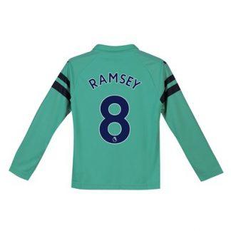 Arsenal Third Shirt 2018-19 - Kids - Long Sleeve with Ramsey 8 printing