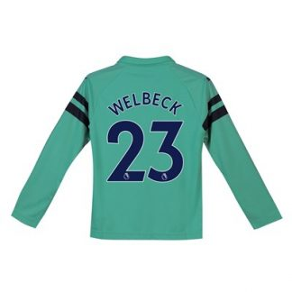 Arsenal Third Shirt 2018-19 - Kids - Long Sleeve with Welbeck 23 printing