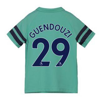 Arsenal Third Shirt 2018-19 - Kids with Guendouzi 29 printing