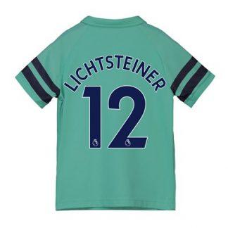 Arsenal Third Shirt 2018-19 - Kids with Lichtsteiner 12 printing