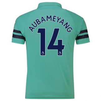 Arsenal Third Shirt 2018-19 - Outsize with Aubameyang 14 printing