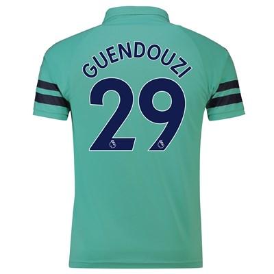Arsenal Third Shirt 2018-19 - Outsize with Guendouzi 29 printing