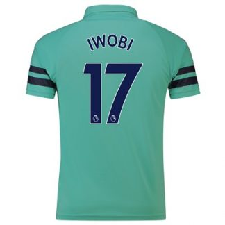 Arsenal Third Shirt 2018-19 - Outsize with Iwobi 17 printing