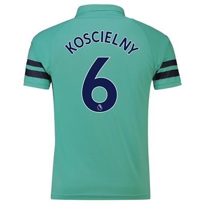 Arsenal Third Shirt 2018-19 - Outsize with Koscielny 6 printing