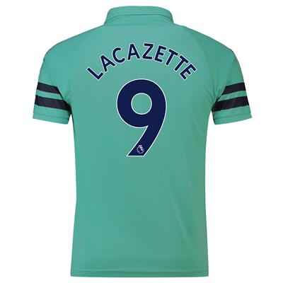 Arsenal Third Shirt 2018-19 - Outsize with Lacazette 9 printing