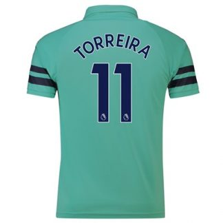 Arsenal Third Shirt 2018-19 - Outsize with Torreira 11 printing