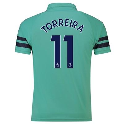 Arsenal Third Shirt 2018-19 - Outsize with Torreira 11 printing