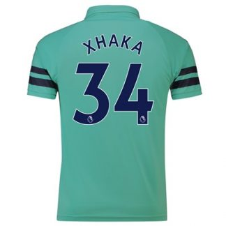 Arsenal Third Shirt 2018-19 - Outsize with Xhaka 34 printing
