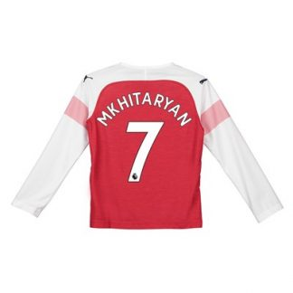 cheap for discount 0c7d1 9344a Arsenal Home Shirt 2018-19 - Kids - Long Sleeve with ...