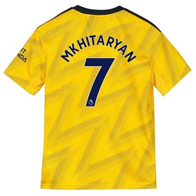 Arsenal Away Shirt 2019-20 - Kids with Mkhitaryan 7 printing