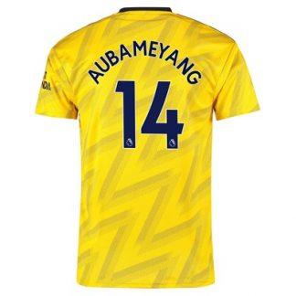 Arsenal Away Shirt 2019-20 with Aubameyang 14 printing