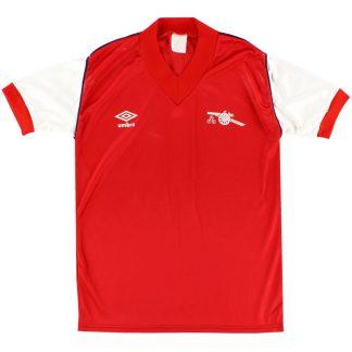 1982-84 Arsenal Home Shirt S