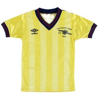 1985-86 Arsenal Centenary Away Shirt S.Boys